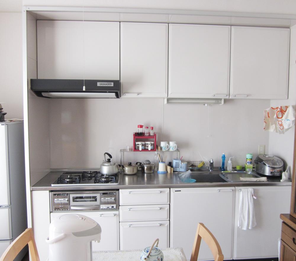 機能的なキッチンになりました。