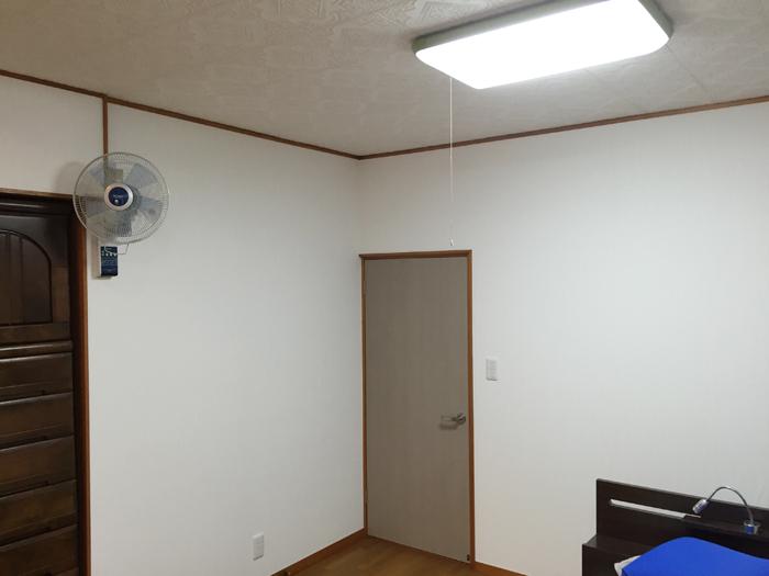 野田市木間ヶ瀬 M様 クロス・インプラス・ガラス交換・建具交換等