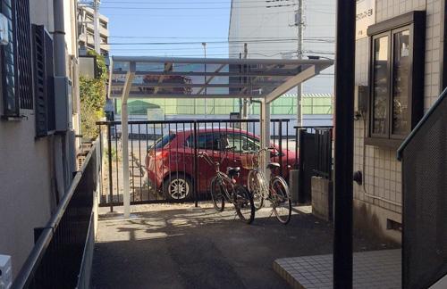 松戸市日暮 S様 エクステリア(サイクルポート)リフォーム