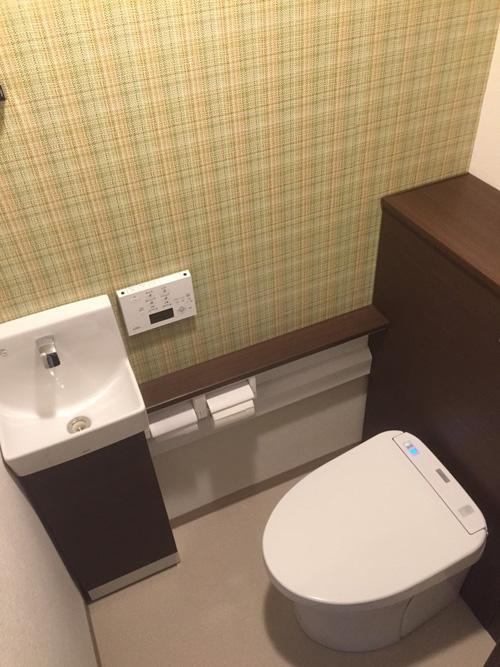 白井市清水口 I 様 トイレ・洗面所工事