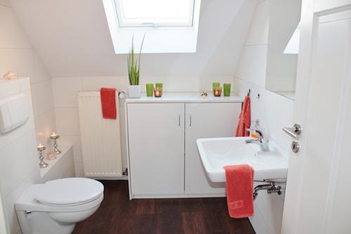 機能が格段に進化した最新のトイレはお掃除も楽々です。