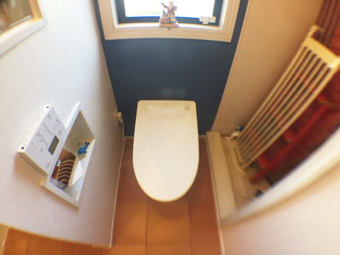 トイレはTOTOのネオレストAH1使用です。タンクレスですっきり!