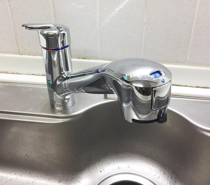 松戸市日暮 M様 キッチン水栓交換