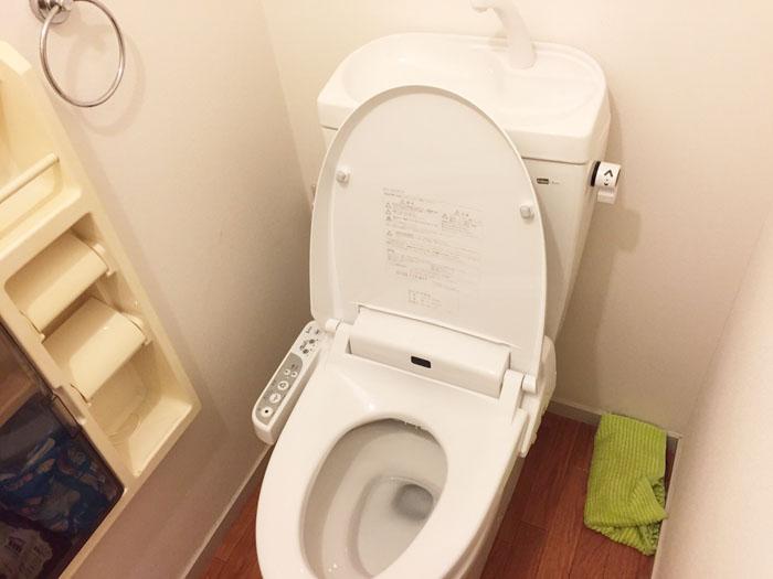 千葉市花見川区検見川町 D様 レストルーム トイレ交換工事